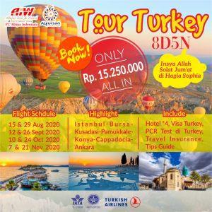 Wisata Turki 8D5N