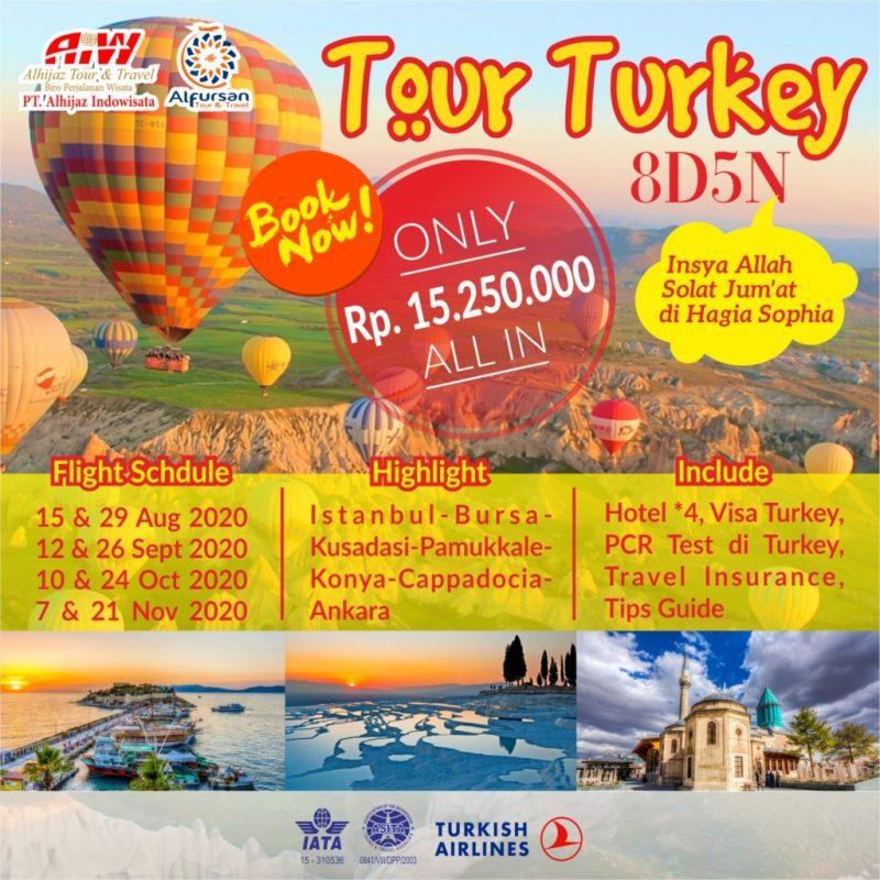 Paket Wisata Turki 8D5N